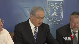 Israel's PM says Hamas equally as vicious Syria-Iraq militants ISIS