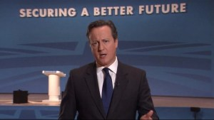 UK's Cameron deeply concerned about Hong Kong