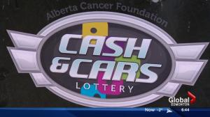Deadline looms for Cash and Cars lottery in support of Alberta Cancer Foundation