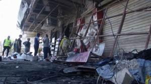 Iraq bomb blasts kill at least 17, injures dozens