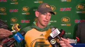 Eskimos lose 30-23 to Blue Bombers at home