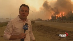 Global crew remembers live TV report covering the Fort McMurray wildfire