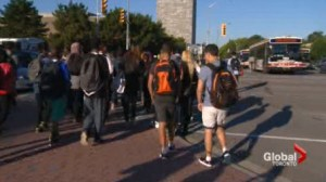 Where are the most dangerous walks to school in toronto?