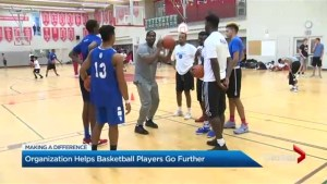 Toronto basketball team is changing lives through sport