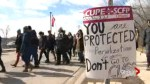 Tensions rise at York University as classes resume amidst strike