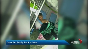 Family stranded in Cuba after son falls ill