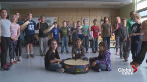 Mikmaq Honour Song taught to Truro Elementary students