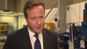 David Cameron 'nervous, but confident' ahead of Scottish referendum