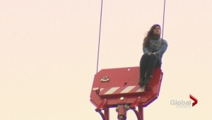 Woman rescued from downtown Toronto crane facing several charges