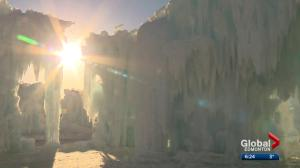 Ice Castles CEO talks about warm weather's impact on the attraction
