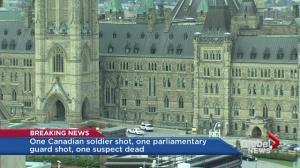 "MP Dalton McGuinty: ""Worried about security since 9-11″, complained of parked car at eternal flame before shooting"