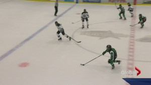 Northwest Territories hockey team participate in Alberta Champions Cup
