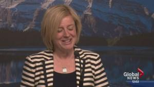 Alberta Premier-elect Rachel Notley wants to get down to work
