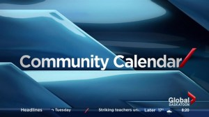 Saskatoon Community Calendar – June 20