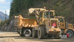 Shuswap mudslide closes Trans-Canada Highway