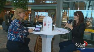 Innovative new charging station available at Calgary International Airport