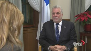 One-on-one with Quebec Premier Philippe Couillard
