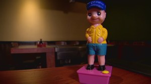 Woman claims sexual assault after restaurant uses 'urinating' plastic figurine