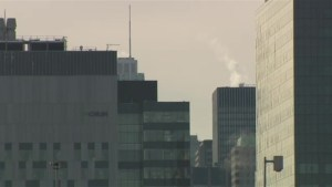 Smog warning issued for Montreal
