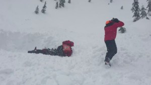 Two separate avalanches on B.C.'s South Coast this weekend