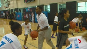 Raptor players helping next generation of Toronto NBA players