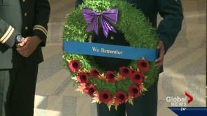 Tribute to fallen soldiers stops in Edmonton