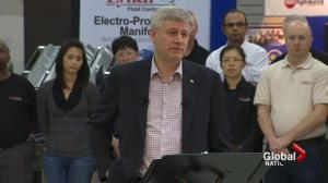 Prime Minister Harper's mixed message on guns and personal security