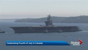 U.S. sailors mark Canada 150, Independence Day in Halifax
