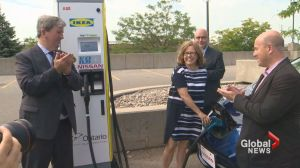 Ontario announces 500 new electric car charging stations