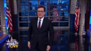 Stephen Colbert: Trump sounded like he was fighting off a cold with cocaine