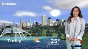Edmonton early morning weather forecast: Wednesday, August 9, 2017