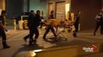 Suspected shoplifter runs away, falls 35 feet
