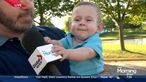 Why Ronald McDonald house sponsors the RBC Canadian Open and one cute little man who benefited from the charity