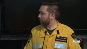 Wildfire Manager discusses danger to industrial sights