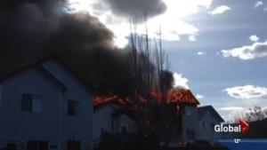 Fire destroys three homes in Hidden Valley