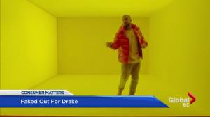 Consumer matters: Watch out for fake Drake tickets
