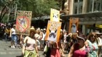 """Thousands protest Trump as """"sister marches"""" begin in Australia"""