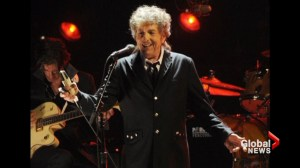 Bob Dylan delivers speech to Swedish Academy to collect money for Nobel prize