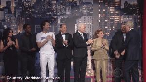 Letterman's final top 10 list a star-studded send-off