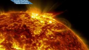 NASA video of amazing activity on the sun