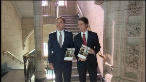 Trudeau describes 2017 budget as win for middle class