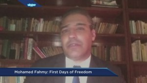 Mohamed Fahmy: First days of freedom