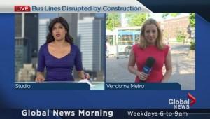 Public transit, construction woes