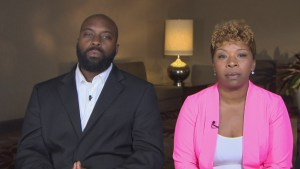 Peace in Ferguson only possible with justice says victim's family