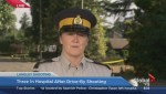 Police comment on the Langley shooting