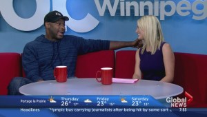 Comedian Kevin Bozeman stops by Global News Morning