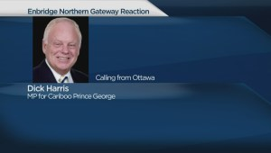 Northern Gateway pipeline: Cariboo-Prince George MP Dirk Harris