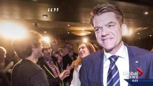 Brian Jean faces backlash for comment about beating Notley