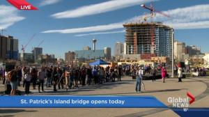St. Patrick's bridge opens