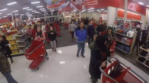 Timelapse shows customers spill into Target store ahead of Black Friday